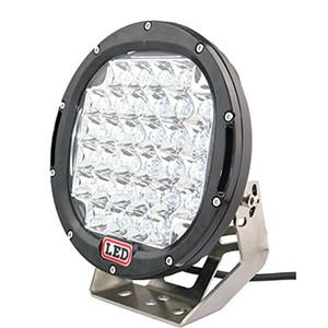 9 polegadas 185 W CREE LED Luz de Condução 4x4 12 V 24 V Rodada 37x5 W Holofotes Super Brilhantes de 185 watts para Carro Offroad