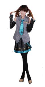 VOCALOD V + traje de cosplay Hatsune Miku vestido de cosplay serie de ropa