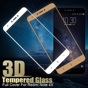 Для Xiaomi Redmi 4X Примечание 4X Pro полный закаленное стекло для xiaomi Redmi Note 4X HD 3D-Экран протектор