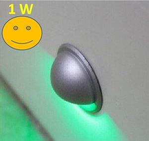 Оптовая торговля-1 Вт мини светодиодный настенный светильник полумесяц лестница лампа крытый открытый украшения освещение для палубы сад шаги патио Асфальтоукладчик свет