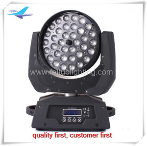 4light + 2road case 36x18w 6 in 1 led moving head zoom light