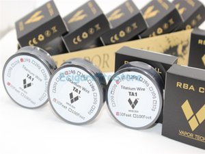 VaporTech Titanium Wire Contrôle de la température mod TA1 Titanium Wire 26g 28g 30g