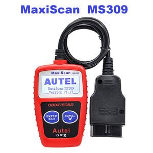 MaxiScan MS309 OBD2 Auto Leitor de Código de Scanner OBDII Car Ferramenta De Diagnóstico Trabalha com todos os 1996 mais tarde OBD2 / CAN Com Tela Multi-Idioma