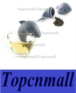 Silicone strainers Tea Infuser Shark Shap Strainer infuser Empty Tea Bags Leaf Diffuser te infusres tea ball Accessories