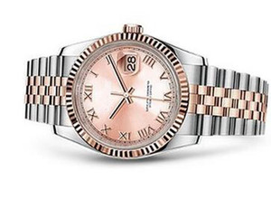 Moda mujer presidente números romanos dial fecha clásico mujer acero inoxidable relojes mujeres mecánicas señoras pulsera reloj señora niñas