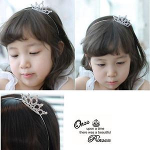 Accesorios para el cabello de la princesa de los niños Baby Girl Rhinestone Horquillas Peines Corona Hairbands Estilo del tocado Princesa Tiara Regalos Envío gratis