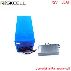72 v 30ah bateria de íon de lítio DIY 72 V 3000 w bateria de bicicleta elétrica para scooters elétricos com carregador com uso de célula Panasonic