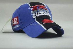 Оптово гоночный автомобиль команды Новый Suzuki вышивки хлопка спорта бейсболки оптом Hat