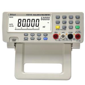Freeshipping ICI VC8145 Numérique Top DMM Multimètre Testeur de température Thermomètre PC Analogique 80 000 points Graphique à barres analogique avec 23 segments
