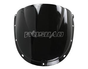 Double Bubble Windshield WindScreen Para 1994-2002 Ducati 748 916 996 998 Negro 98 99 01 02 1995 1996 1997 1998 1999 2000 2001