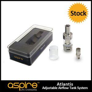 Toptan 100% Orijinal Aspire Atlantis Tankı 2 ML Atlantis Tankı Güzel Kalite Aspire Atlantis Atomizer Ile 0.5ohm Atlantis BVC Bobin