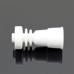 Le clou en céramique sans dôme s'adapte aux deux 14mm 18mm avec le verre femelle jonit contre le clou titanique de GR2