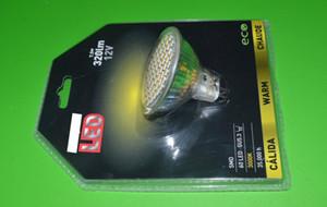 AC12V 3W MR16 Gu5.3 بقيادة الأضواء DC12V بقيادة مصباح LED بقعة ضوء مصباح شحن مجاني 5PCS / Lot