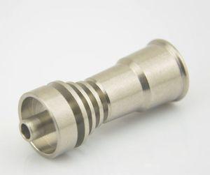 İyi fiyat Yeni titanyum domeless tırnak gr2 14 / 18mm su için Boru cam bong Sigara borular ücretsiz kargo