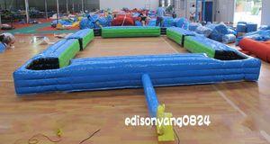 Billar humano del balompié, juegos del deporte de la bola del róbalo del pie, fútbol inflable de la tabla del snooker de la piscina un sistema para el envío libre