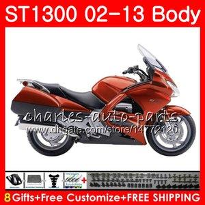 Kit für HONDA STX1300 ST1300 Neu Orange Pan European 07 08 09 10 11 12 13 93NO14 ST-1300 ST 1300 2007 2010 2010 2011 2012 2013