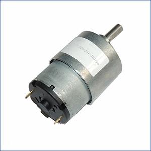 Micro moteur à engrenages CC de haute qualité 6V 12V 24V, moteurs électriques petits, engrenage entièrement en métal, J14477