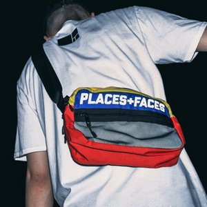 Places + Caras 3M Bolsa P + F Color Hit Paquete reflectante Bolsa de hombro Mensajero Moda Pareja High Street Pockets HFLSBB006