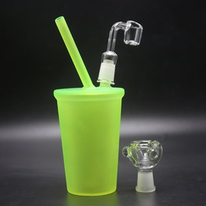 Nouveau Bongs! Starbucks en verre Bong Starbuck Cup Water Pipe Cheech fumant la pipe huile Dab Dôme Rigs et ongles en verre barboteur Hookah