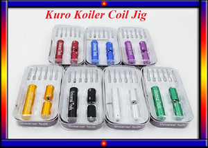 Kuro 코 일러 코일 지그 와이어 coilling 도구 6 1 마이크로 코일 RDA RBA 도구 마스터 RDA / RBA 마이크로 와이어 코일 지그 도구