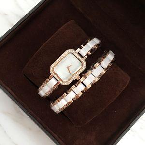 2020 Praça ocasional Women Watch festa vestido relógios clássicos quartzo rosa qualidade superior de ouro Assista Pulseira Relógio de pulso dropshipping estilo especial