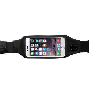 Toptan-Spor Koşu Koşu Fitness Tırmanma Dokunmatik Ekran Cep Telefonu Çanta Kılıfı Para Kemer Bel Kadın Erkek Paketi # SP-D005