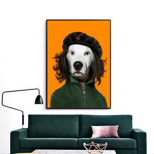 Pintura A óleo sobre Tela HD Impressão Retrato Da Arte Da Parede Home Decor Pintura Arte Moderna Retrato Da Celebridade animal desempenho Sem Moldura