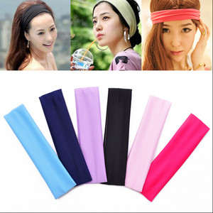 Cheap Wholesale Hair Band,Best for yoga sports Polyester women elastic headbands Wear Yoga Decoration,hair accessories WG8