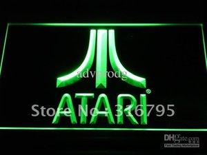 e022-g Atari Game PC Logo هدية عرض ضوء النيون تسجيل