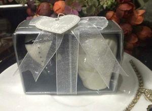 (2 Teile / los = 1 Satz = 1 Box) Hochzeitsgeschenk Gefälligkeiten von Braut und Bräutigam Salz- und Pfefferstreuer Gastgeschenke Für Westliche Hochzeitsartikel