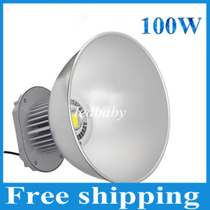 100W LED Yüksek Bay Işık 85-265V Endüstriyel LED Lamba 45 Derece LED Işıklar Yüksek Bay Aydınlatma Fabrika Atölyesi CE ROHS Onayı için 10000LM