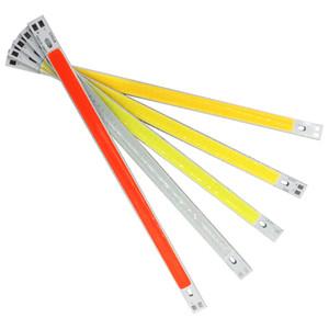 12V 10W COB LED source de bande lumineuse pour lampe ampoule de voiture bricolage Chaud froid blanc bleu rouge 1000LM 200 * 10mm puce sur l'éclairage de bord