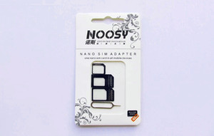 NOOSY Nano Sim Micro Sim Standard Sim Card Converter Nano Sim Adapter for All Smart Phone Mobile Devices
