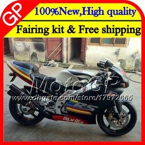 Carrocería para Aprilia Mate negro RS-250 RSV250 RS250 95 96 97 cuerpo 5GP3 RS250R 95-97 RSV 250 RR RS 250 1995 1996 1997 97 Carenado de motocicleta