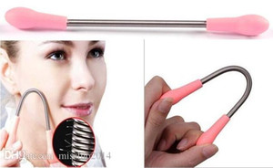 Wholesale Painless Hair Catcher Facial Hair Remover Removal Stick Threading Epistick Epilator Spring With Retail Package
