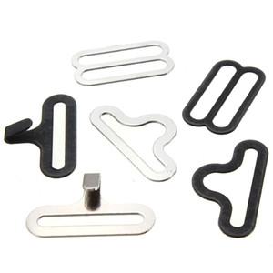 Wholesale-50 Sätze Fliege Clip Hardware Cravat Clip Hakenverschluss für Krawatte Strap