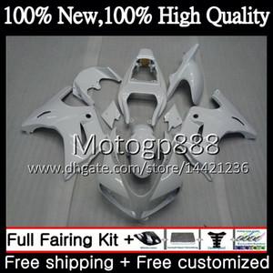 Обтекатель кузова для SUZUKI SV1000 SV1000S 03 04 05 06 07 08 37PG8 SV 1000S 650S SV650 глянцевый белый SV650S 2003 2004 2005 2006 2007 2008