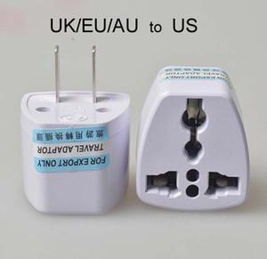 Высокое качество путешествия зарядное устройство переменного тока электрическая мощность UK/AU/EU To US Plug адаптер конвертер США универсальный разъем питания Adaptador разъем(Белый)
