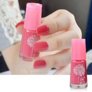 Nuova base acquosa Peel Off smalto per unghie Smell Faint Fragrance Nail Lacquer Pure Glitter Sweet Colors Smalto per dipingere Spedizione gratuita
