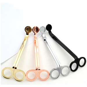 Metal Candle Wick Trimmer Stainless Steel Aromatherapy Candles Scissors Practical Oil Lamp Hook Cutters For Household 11 5sl BZ