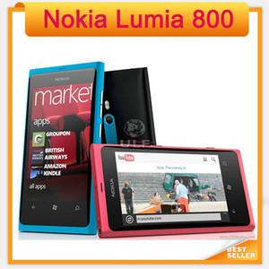 Ursprüngliches entriegeltes Nokia Lumia 800 Windows Mobile OS 16 GB ROM 8MP 3G Wi-Fi GPS Bluetooth renoviert Handy