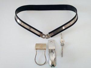 Männliche Keuschheitsstopfen mit Keuschheit Anal einstellbar Edelstahl Sex Belt Modell-y Stahlgürtel Geräte Spielzeug J1812 CNECD