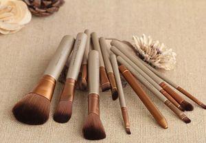 2014 Nuovi capelli sintetici 12 pezzi Brand New Hair styling professionale fondazione ombretto Palette pennelli da trucco set 100 set