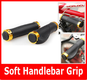 Skid-proof Macio Handlebar Grip Capa Para Mountain Bike Ciclismo bicicleta handle bicicleta 5 Cores 2 PCS / Pair Alta Qualidade