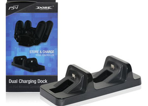 Двойной Micro USB зарядки док-станция PS4 зарядное устройство стенд база для PS4 Playstation 4 беспроводной игровой контроллер