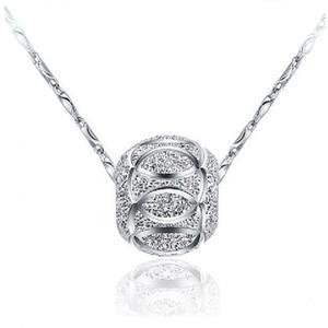 Women Pendant 925 sterling silver ball Fashion Jewelry Pendant Sterling Silver Jewelry