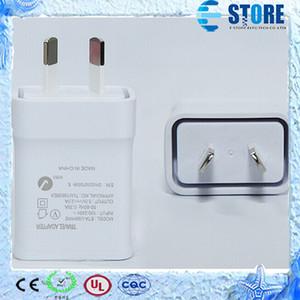 Подлинное качество путешествия зарядное устройство для Samsung Galaxy Note3 N900 S5 Ж / AU Plug 5.3 V 2a Главная стены адаптер