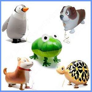 Uçan Alüminyum balonlar oyuncak şişme top hayvan folyo balon pet ballon freeshipping