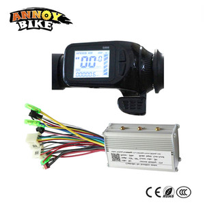 24v 36v 48v Elektro-Bike-Assistent LCD-Display Daumen-Gas-Typ LCD-Display S886 mit abgestimmten Controller