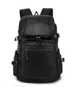 продажи Марка мужская сумка новый простой свет Горный путешествия рюкзак удобная мягкая кожа досуг Марка путешествия студент сумка компьютер рюкзак